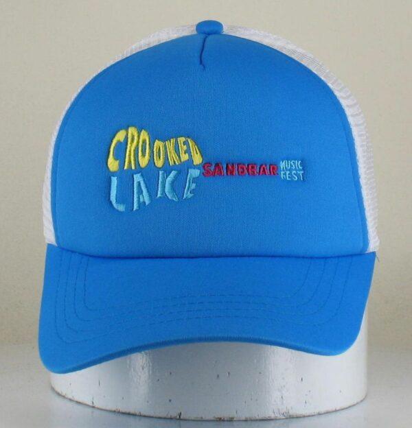 Blue & White Trucker Hat