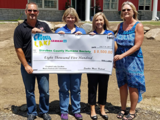 Crooked Lake Sandbar Music Festival Check Donation
