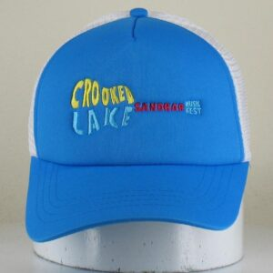 Blue & White Trucker Hat
